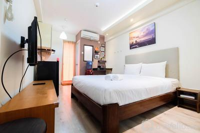 Simple Studio Room with Bassura Apartment By Travelio