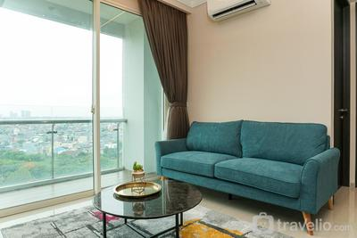 Cozy and Comfy 2BR Citralake Suites Apartment By Travelio