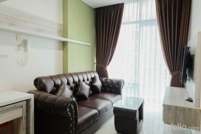Modern Look 1BR at Brooklyn Alam Sutera Apartment By Travelio