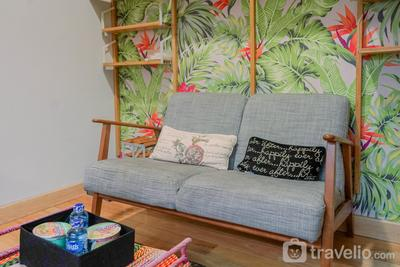 Comfy 1BR at The Mansion Kemayoran Apartment By Travelio