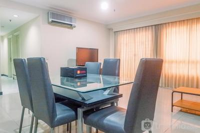 Very Spacious 3BR High Floor Taman Beverly Apartment By Travelio
