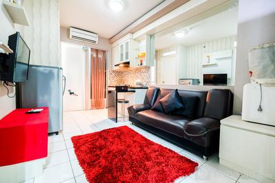 Homey 2BR Kalibata City Apartment By Travelio