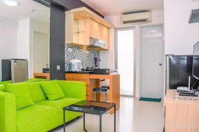 Alluring 2BR at Bassura City Apartment near Mall By Travelio