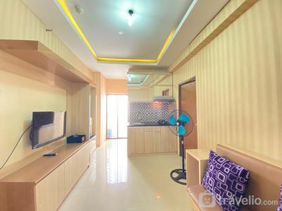 Simply 3BR Apartment at Gateway Ahmad Yani Cicadas By Travelio