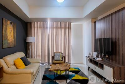Cozy and Elegant 2BR at The Accent Apartment By Travelio