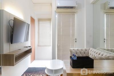 Comfy & Clean 2BR Apartment at Puncak CBD By Travelio