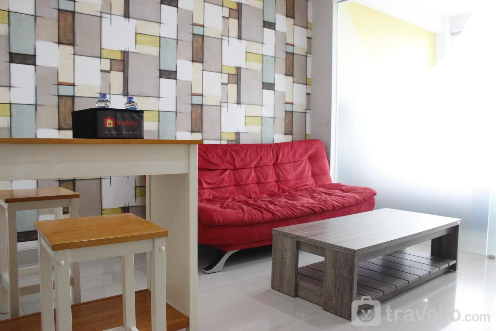 Dago Suites Apartment - Trendy 1BR near ITB @ Dago Suites Apartment By Travelio