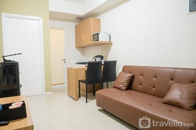 Comfy 2BR with Sofa Bed at Parahyangan Residence By Travelio
