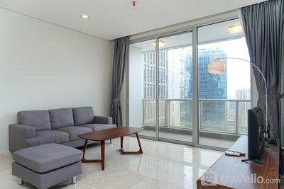 Relaxing 2BR at The Empyreal Condominium Epicentrum Apartment By Travelio