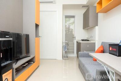 Modern 2BR Apartment at Parahyangan Residence By Travelio