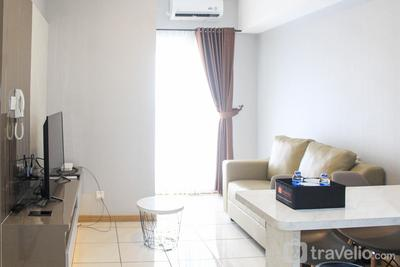New Furnished with City View 2BR Apartment M-Town Residence By Travelio