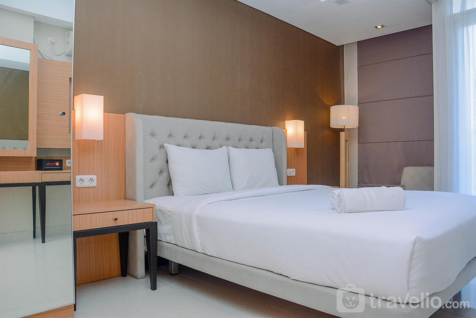 Apartemen Elpis Residence - Modern and Tidy Studio Apartment at Elpis Residence By Travelio