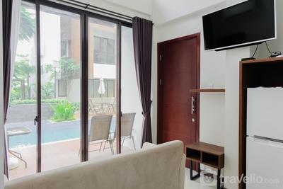 Pool View 3BR Apartment at Asatti BSD City By Travelio