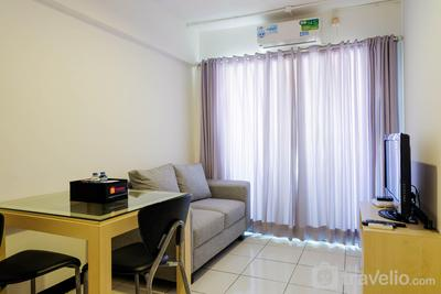 Affordable 2BR at Sentra Timur Apartment By Travelio