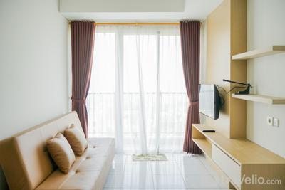 Modern and Tranquil 1BR @ Casa De Parco Apartment By Travelio