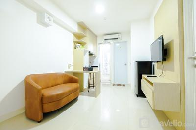Simply & Clean 2BR Bassura City Apartment By Travelio