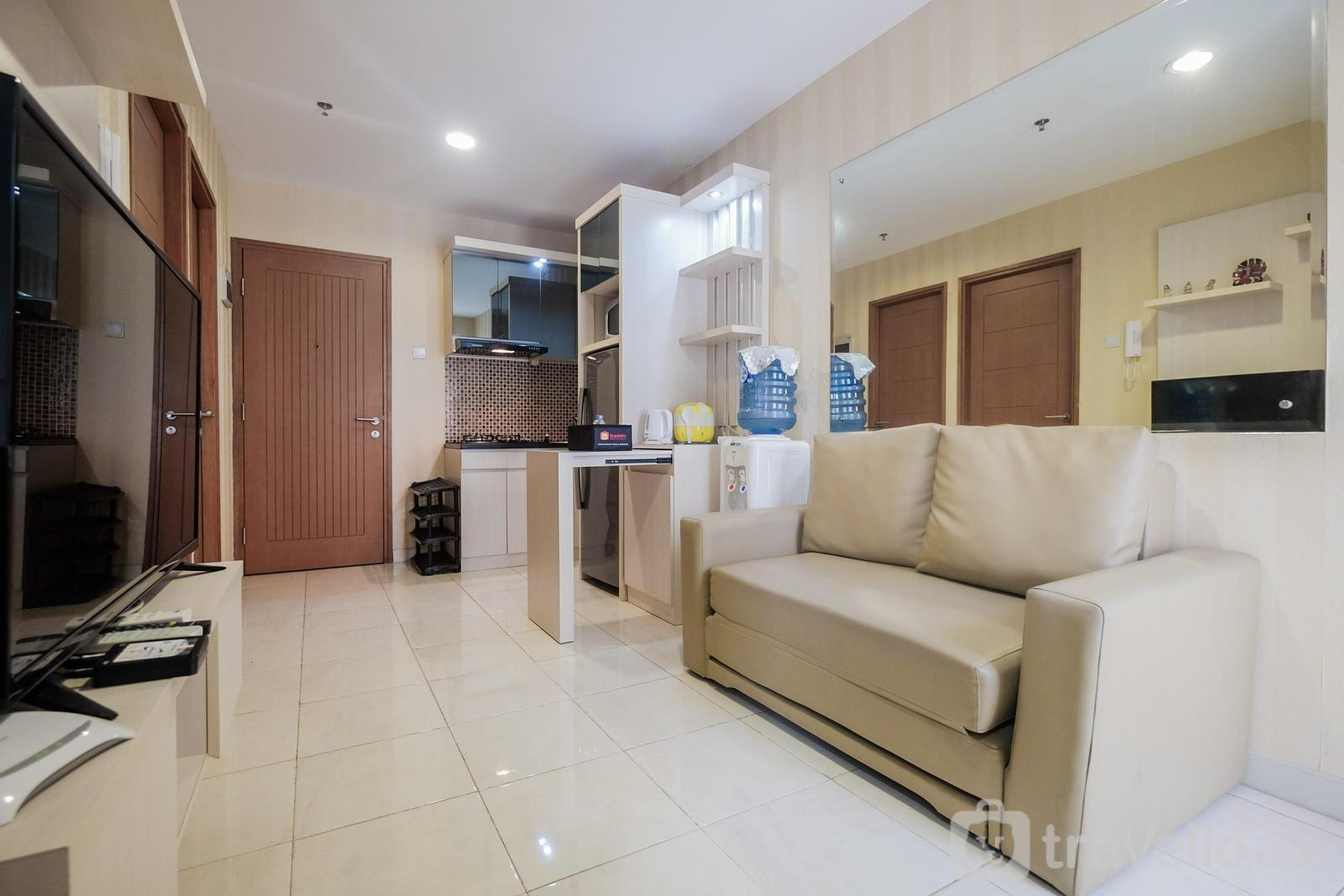 Apartemen Cinere Bellevue Suites - 2BR Apartment at Cinere Bellevue with Access to Mall By Travelio