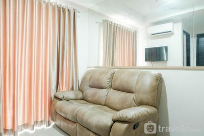 Contemporary Style & Family 2BR Apartment Belmont Residence Puri By Travelio