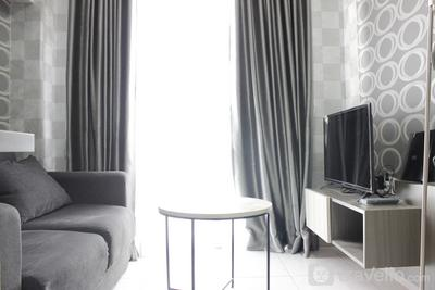 Modern 2BR Apartment at Mekarwangi Square Cibaduyut By Travelio