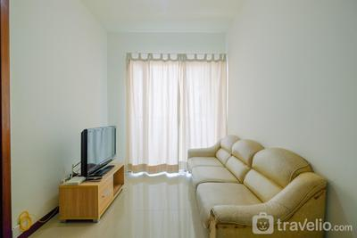 Cozy 1BR at Green Bay Pluit Apartment By Travelio