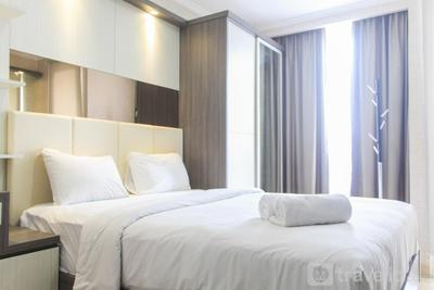 Nice and Fancy Studio Room at Menteng Park Apartment By Travelio