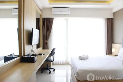 Stylish and Spacious Studio Galeri Ciumbuleuit 3 Apartment By Travelio