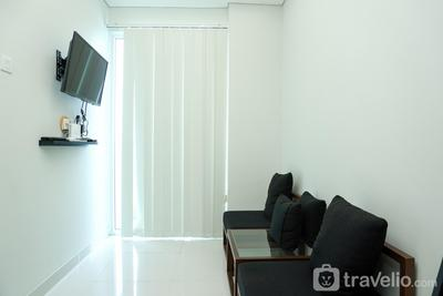 Minimalist 1BR at Puri Mansion Apartment near Puri Mall By Travelio