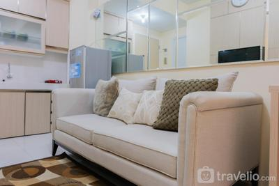 Homey 2BR Apartment at Kota Ayodhya Residence By Travelio