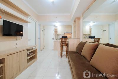 City View 2BR at Springlake Summarecon Bekasi Apartment By Travelio
