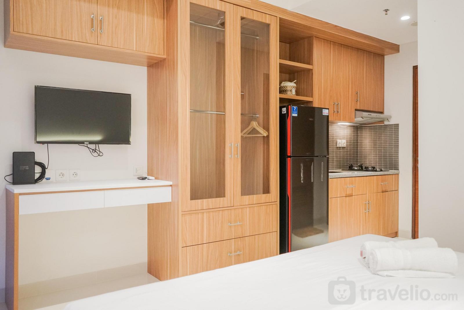 Apartemen Roseville (Soho & Suite) - Graceful Studio Room at Roseville Apartment By Travelio