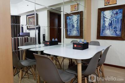 Classic and Strategic 3BR Sudirman Tower Condominium By Travelio