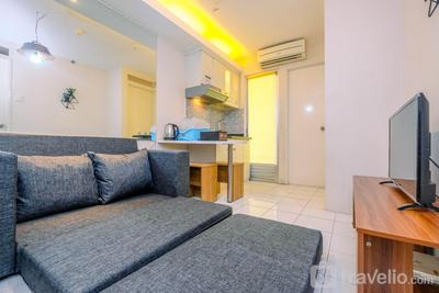 Minimalist and Cozy 2BR Apartment at Kalibata City Residence By Travelio