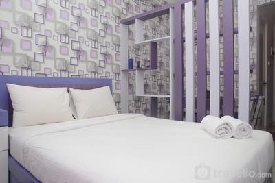 Purple Studio at Signature Park Grande Apartment By Travelio