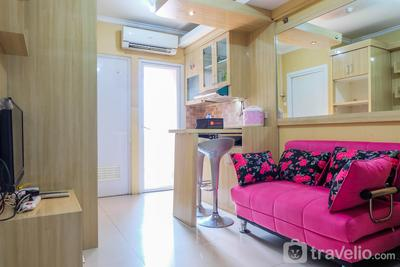 Affordable Price 2BR Green Pramuka City Apartment By Travelio