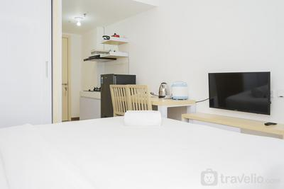 Comfort with Garden View Studio Apartment M-Town Residence By Travelio