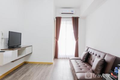 Elegant and Convenient 2BR M-Town Residence Apartment By Travelio