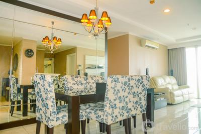 3BR Penthouse at MOI Kelapa Gading Square Apartment By Travelio