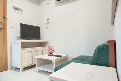 Cozy and Stylish 1BR The Mansion Kemayoran Apartment near JIEXPO By Travelio
