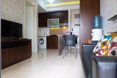2BR Comfortable Pakubuwono Terrace Apartment By Travelio