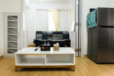 Spacious & Clean 1BR Bassura Apartment By Travelio