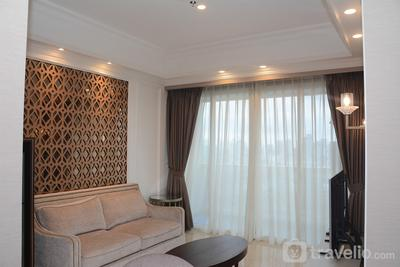 Luxurious 2BR with Private Lift Menteng Park Apartment By Travelio