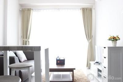 Simply Minimalist 2BR Gateway Pasteur Apartment By Travelio
