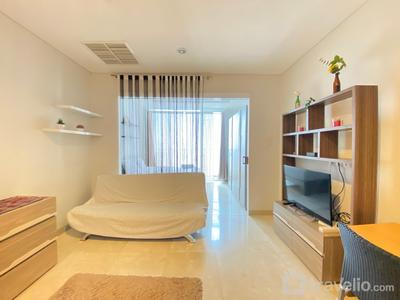 Pleasant 1BR Deluxe at Dago Suites Apartment near ITB By Travelio