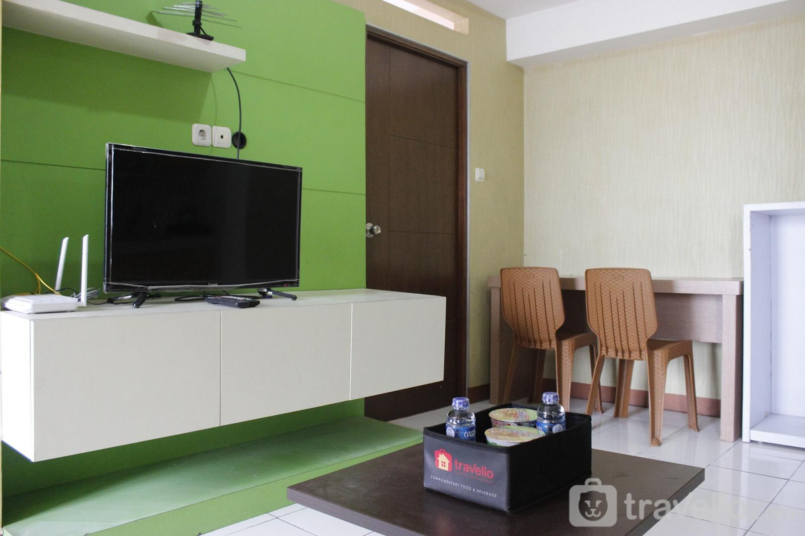 Gateway Apartement Ahmad Yani Cicadas - Minimalist 3BR Gateway Cicadas Ahmad Yani Apartment By Travelio