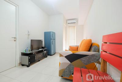 Minimalist 2BR Apartment The Springlake Summarecon By Travelio