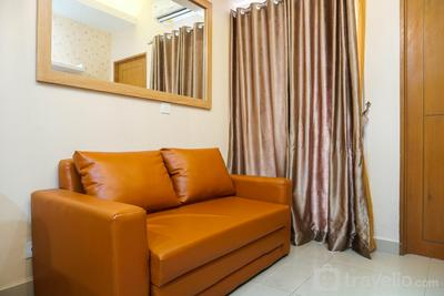 City View 2BR at The Nest Puri Apartment By Travelio