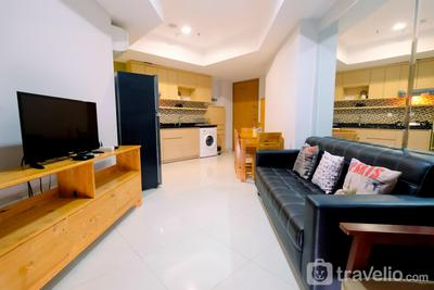 2BR at The Mansion Kemayoran Apartment near JIEXPO By Travelio