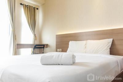 Modern Studio Akasa Pure Living Apartment By Travelio