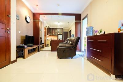 2BR Apartment at Mediterania Garden Residences 1 Tanjung Duren By Travelio