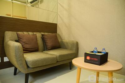 1BR City View The Mansion Apartment at Dukuh Golf Kemayoran By Travelio